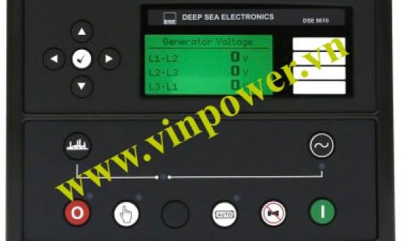 Bộ điều khiển Deepsea DSE8610 (hòa đồng bộ)