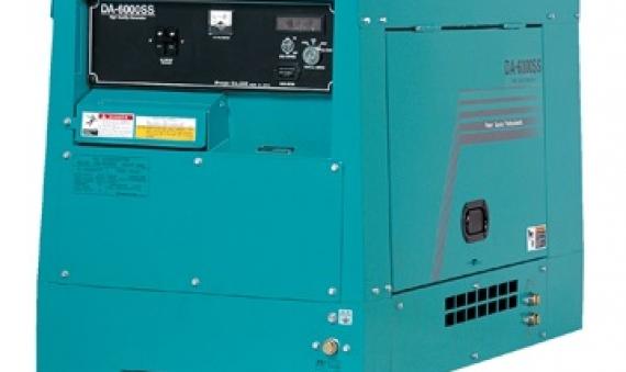Máy phát điện Denyo DA-6000SS 5.5KVA 6.1KVA