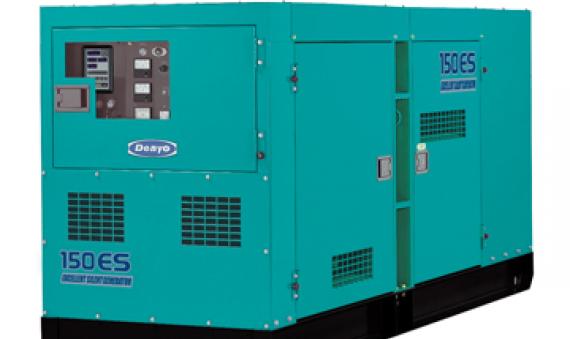 Máy phát điện Denyo DCA-150ESK 125KVA 138KVA