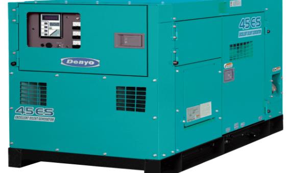 Máy phát điện Denyo DCA-45ESI 37KVA 38.9KVA