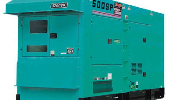 Máy phát điện Denyo DCA-500SPK 450KVA 495KVA