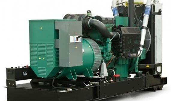 Máy phát điện Volvo 350KVA 385KVA động cơ TAD1342GE