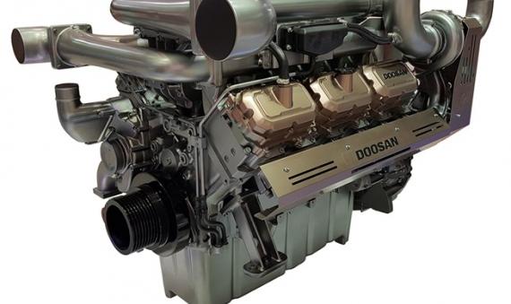 Máy phát điện Doosan công suất 800KVA 900KVA  DP222CB