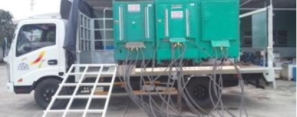 Nguyễn Gia phục vụ cho thuê máy phát điện giá rẻ, trọn gói