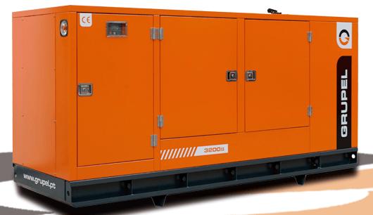 Máy phát điện công nghiệp Grupel