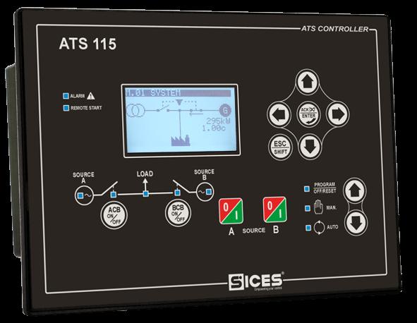 ATS controller: ATS115