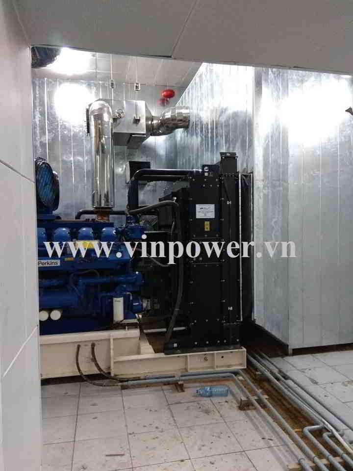 phòng tiêu âm máy phát điện