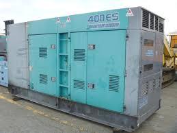 máy phát điện cũ Denyo